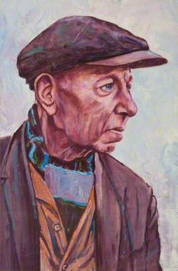 Portrait of a man Wearing a Cap
