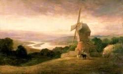 The Tyne from Windmill Hills, Gateshead