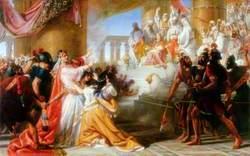 Athaliah's Dismay at the Coronation of Joash