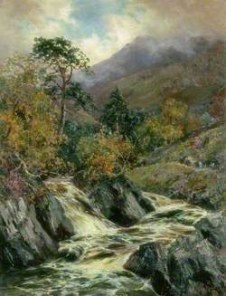 Landscape with Mountain Stream