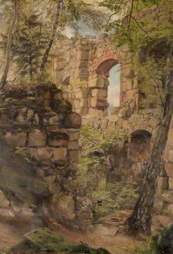 Ruins in a Wood