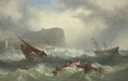 Wreck off Scarborough