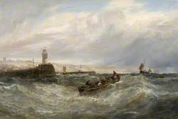Off the Port of Boulogne