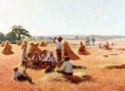 Harvesters Resting