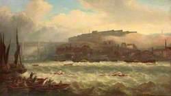 Cooper versus Chambers, Race on the Tyne