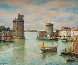 La ville de La Rochelle, France