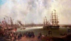 The Opening of Tyne Dock