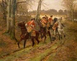 The Ambush, 1745
