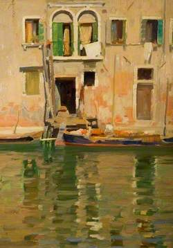 A Fisherman's Home, Venice