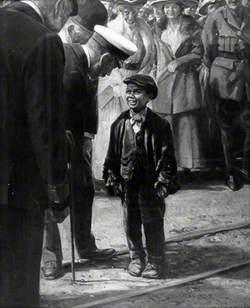George V at Doxford's Shipyard, 16 June 1917