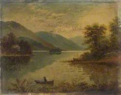 Landscape with Mountain and Lake