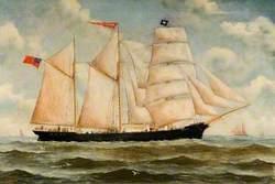 Iron Barque 'Regent'