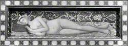 A Sleeping Nude Woman