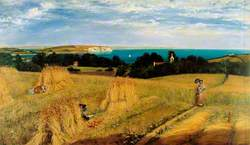 View across Sandown Bay, Isle of Wight