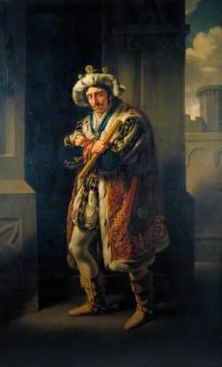 Edmund Kean (1787–1833), as Richard in 'Richard III' by William Shakespeare