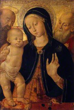 The Virgin and Child with Two Saints
