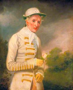 William Farren (1786–1861), as Lord Ogleby in 'The Clandestine Marriage' by George Colman the Elder and David Garrick