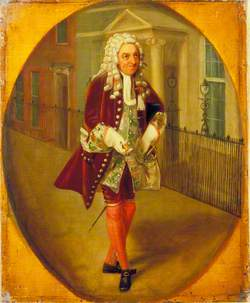 Richard Suett (1755–1805), as Bayes in 'The Rehearsal' by George Villiers, 2nd Duke of Buckingham