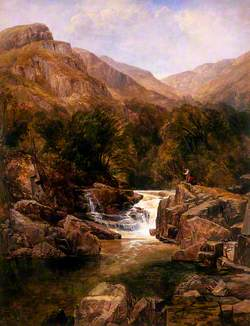 Scene on the Tummel, Perthshire