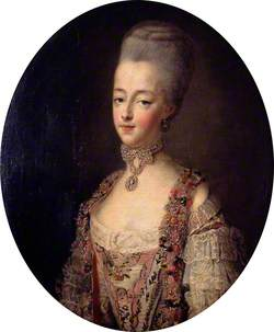 Marie Antoinette (1755–1793), Queen of France, in a Court Dress