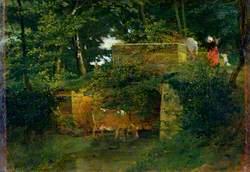Pont de Batignies in the Forest of Compiègne