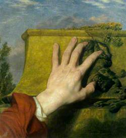 Study of a Hand against a Wall