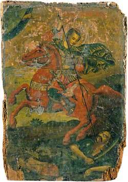 Saint Demetrius Slaying a Pagan