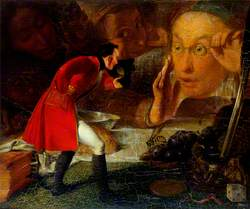 Gulliver Exhibited to the Brobdingnag Farmer