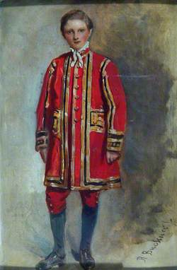 Portrait of a Boy Chorister of the Chapel Royal