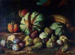 Still Life: Melons and Figs