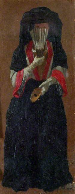 A Lady Seen in Full Face