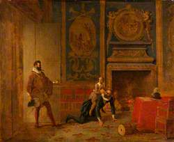 Henry IV, the Dauphin and the Spanish Ambassador