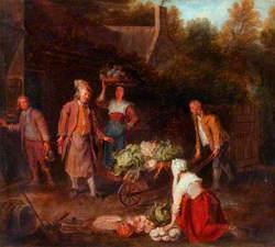 The Vegetable Seller
