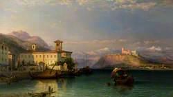 Arona and the Castle of Angera, Lago Maggiore