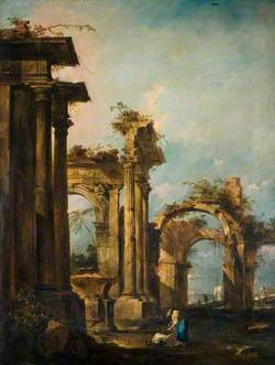Capriccio with Ruins and Figures