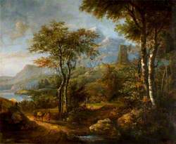 Landscape with Mountains in the Distance