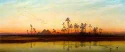 Sunset on the Nile