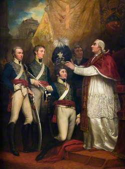 The Presentation of British Officers to Pope Pius VI, 1794