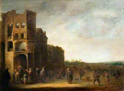 Saint Martin and the Beggar