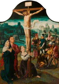 The Crucifixion with Mary Magdalen at the Foot of the Cross