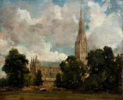 Salisbury Cathedral from the South-West