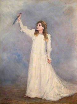 Alma Murray (1854–1945), as Beatrice Cenci in 'The Cenci' by Percy Bysshe Shelley