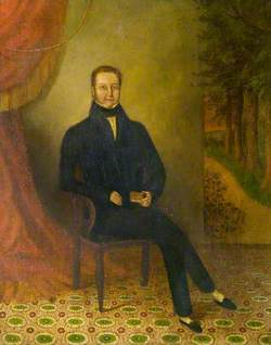 Mr Congreve, Founder Member of the Zionist Baptist Chapel, Bedworth, Warwickshire