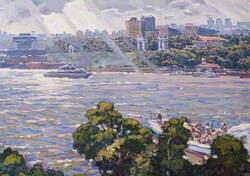 City Riverscape