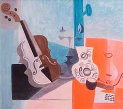 Still Life with Violin