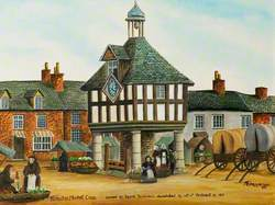 Nuneaton Market Place, Warwickshire, Owned by Squire Tomkinson, Demolished by Act of Parliament, 1810