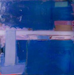 Abstract (Lilac and Blue)