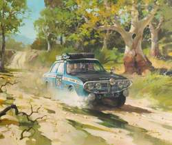 London to Sydney, Hillman Hunter Rally Car