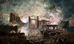 A Roman Battle Scene