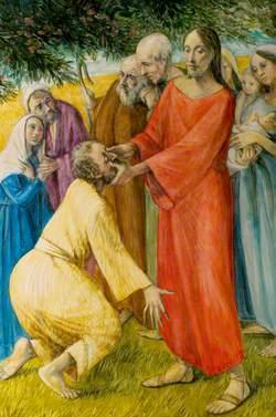 Christ Healing Bartimaeus